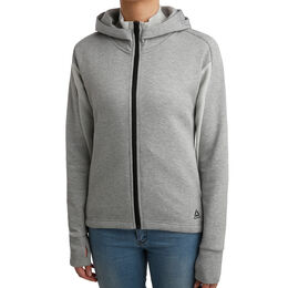 One Series Cotton Full-Zip Hoodie Women