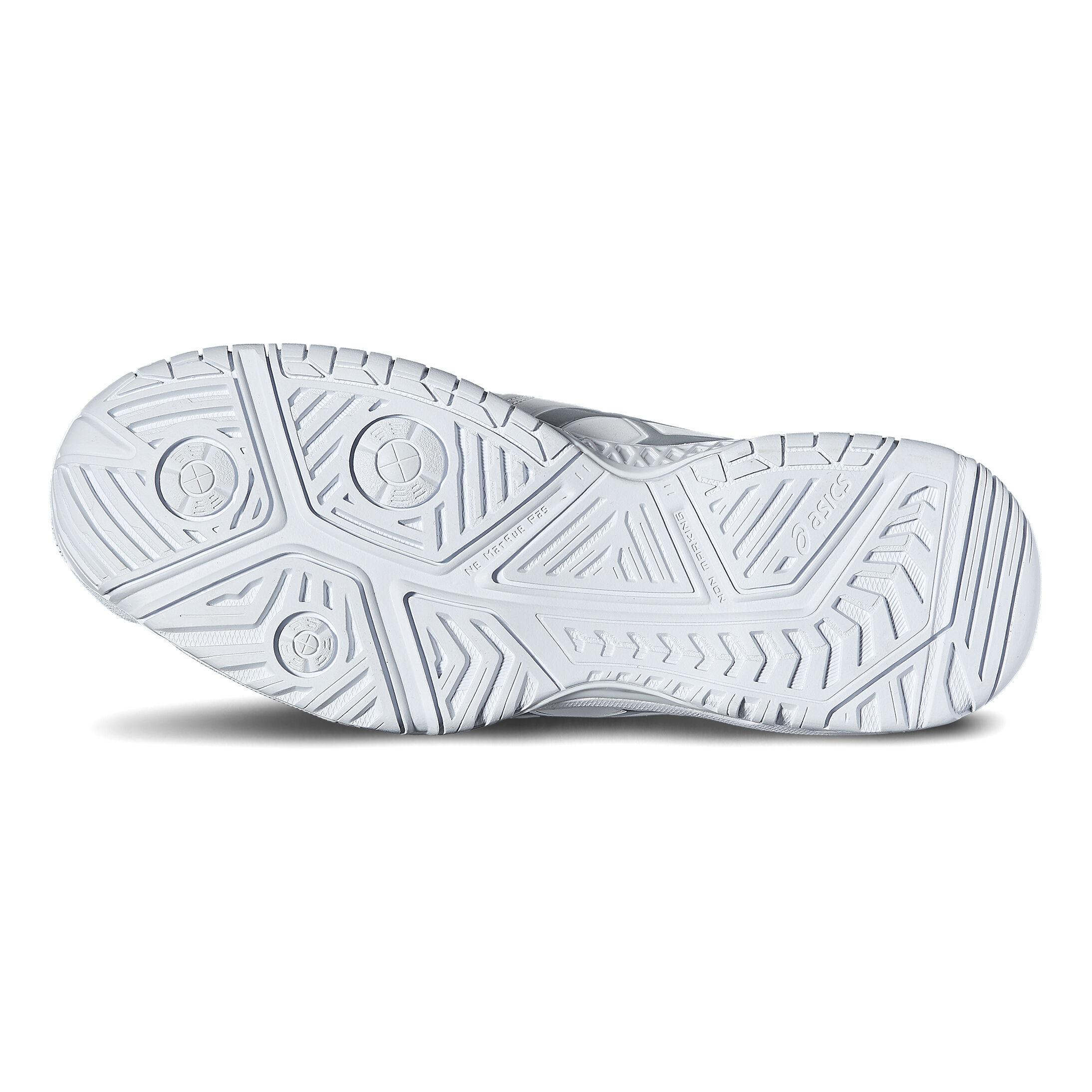 Asics Gel Resolution 7 Allcourt sko Damer Hvid, Sølv køb