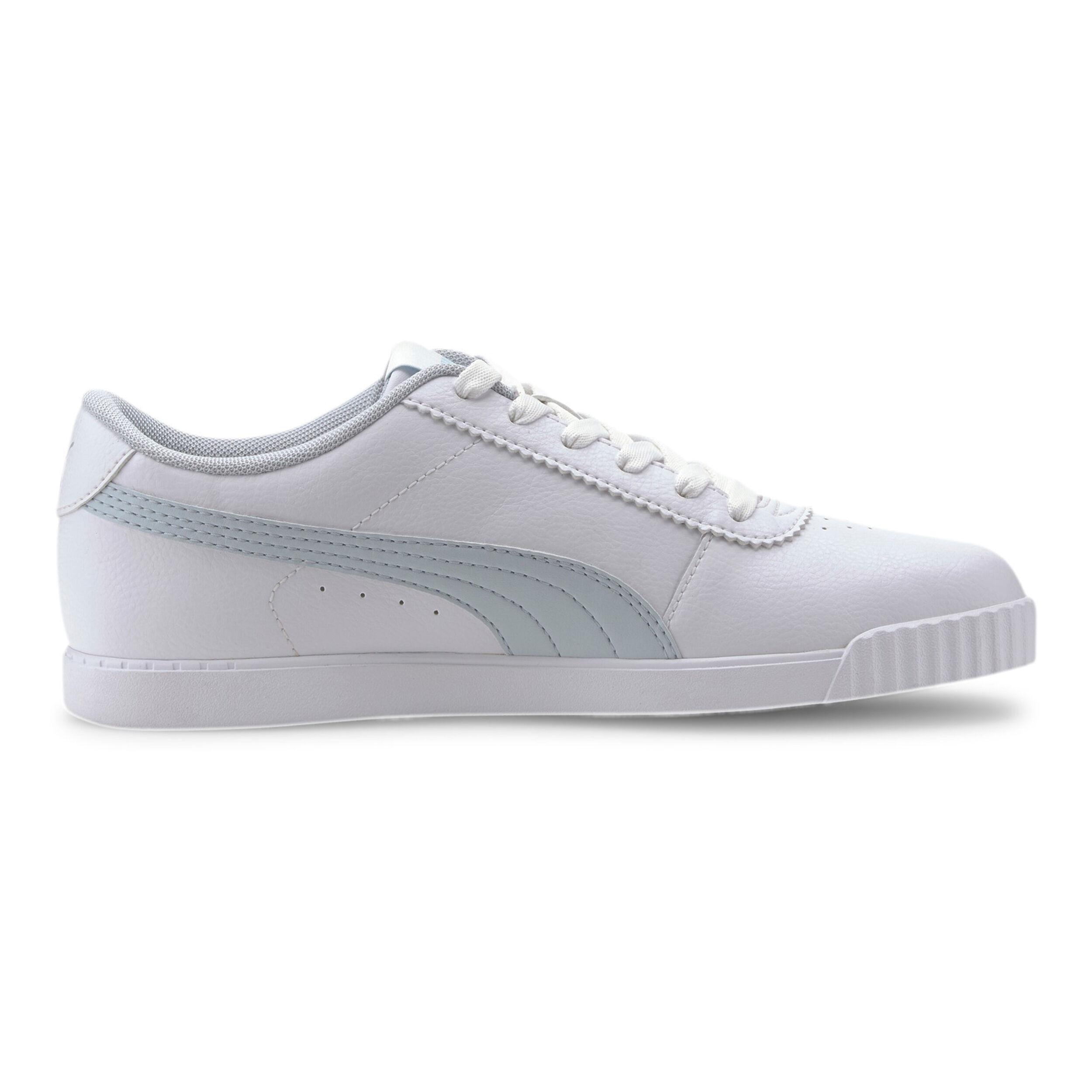 Puma Carina Slim SL Damer Hvid, Lyseblå køb online