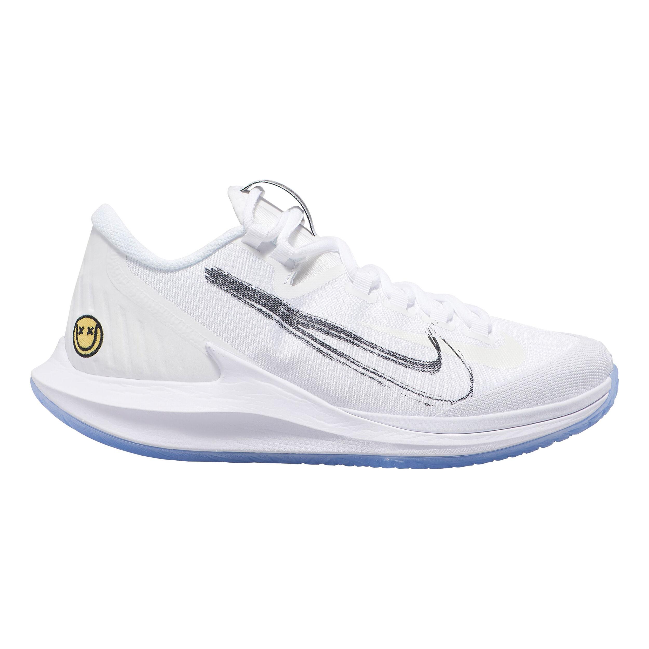 Nike Air Zoom Zero Allcourt sko Damer Hvid, Lyseblå