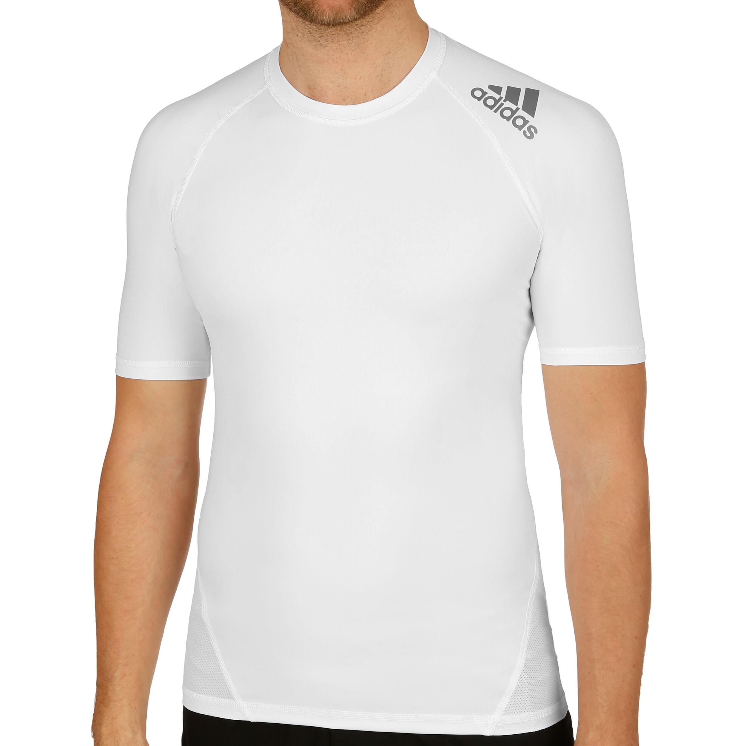 adidas AlphaSkin Sport T shirt Herrer Hvid, Grå køb online