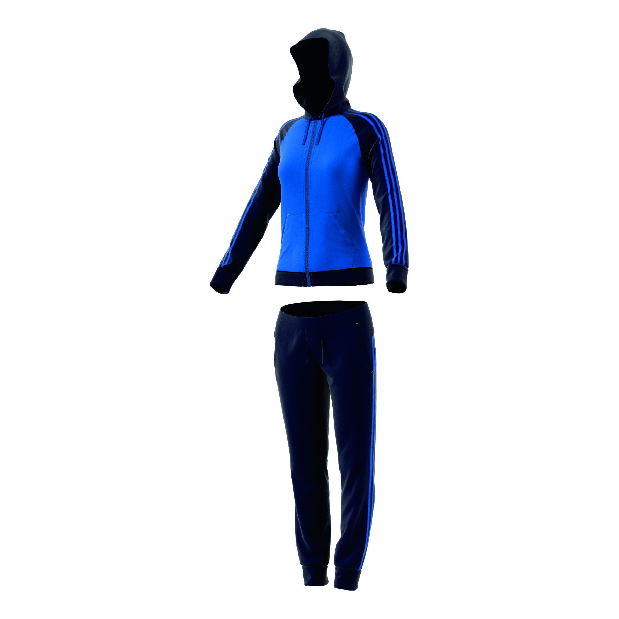 adidas Re Focus Træningsdragt Damer Blå, Mørkeblå køb