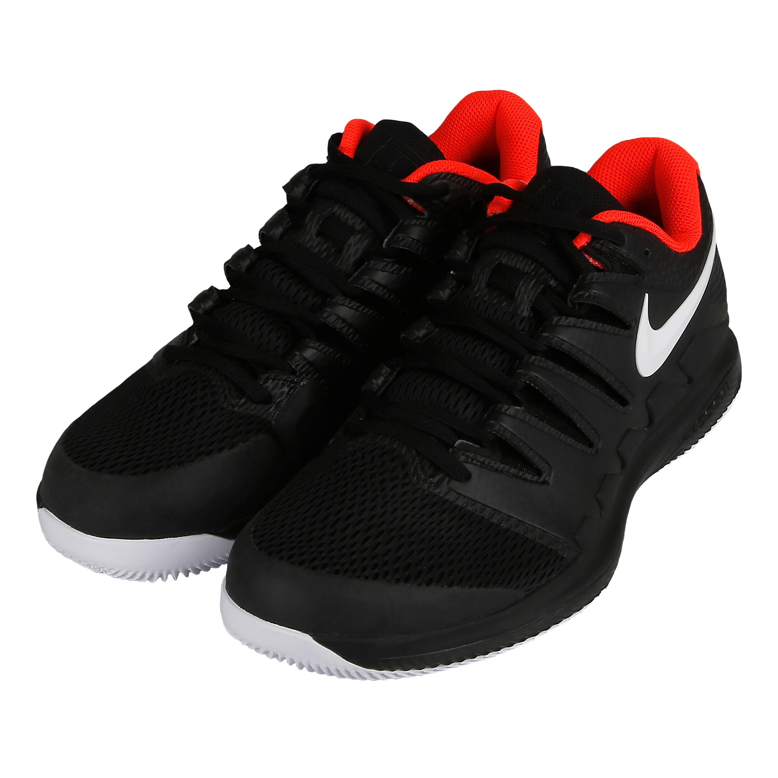 Nike Air Zoom Vapor X HC Allcourt sko Herrer Sort, Hvid