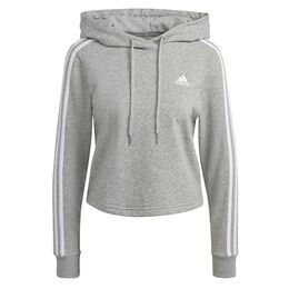 Essentials 3 Stripes Cropped Hoody
