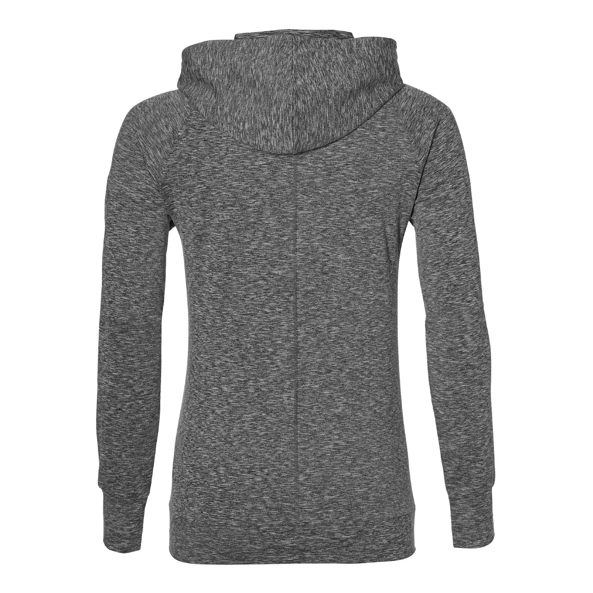 Asics Sweat Po Hættetrøje Damer Mørkegrå køb online