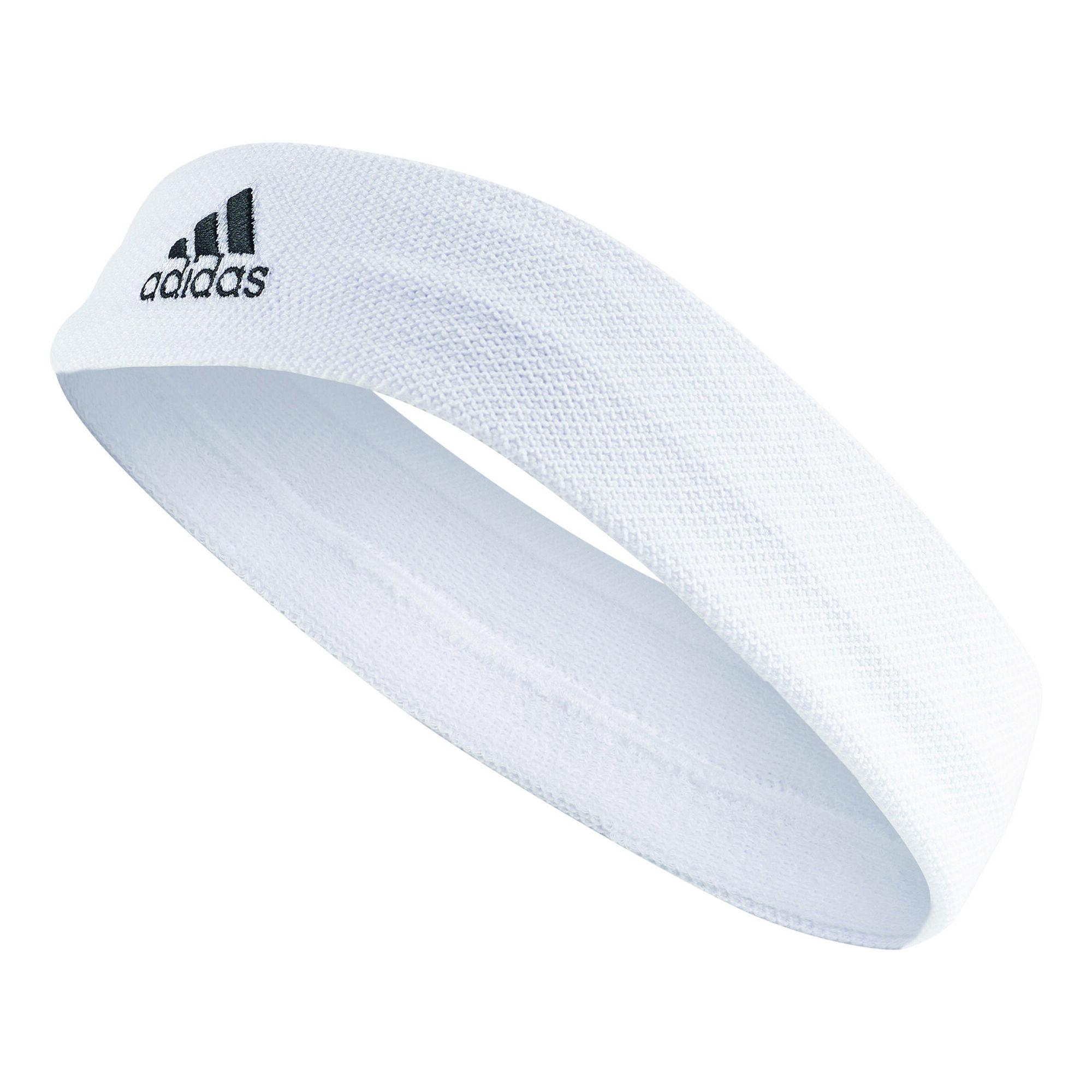4954bfe9566 adidas Tennis Pandebånd - Hvid, Sort køb online | Tennis-Point