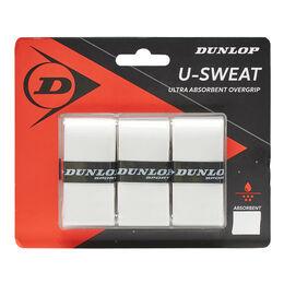 D TAC U-SWEAT OVERGRIP WHITE 3PCS