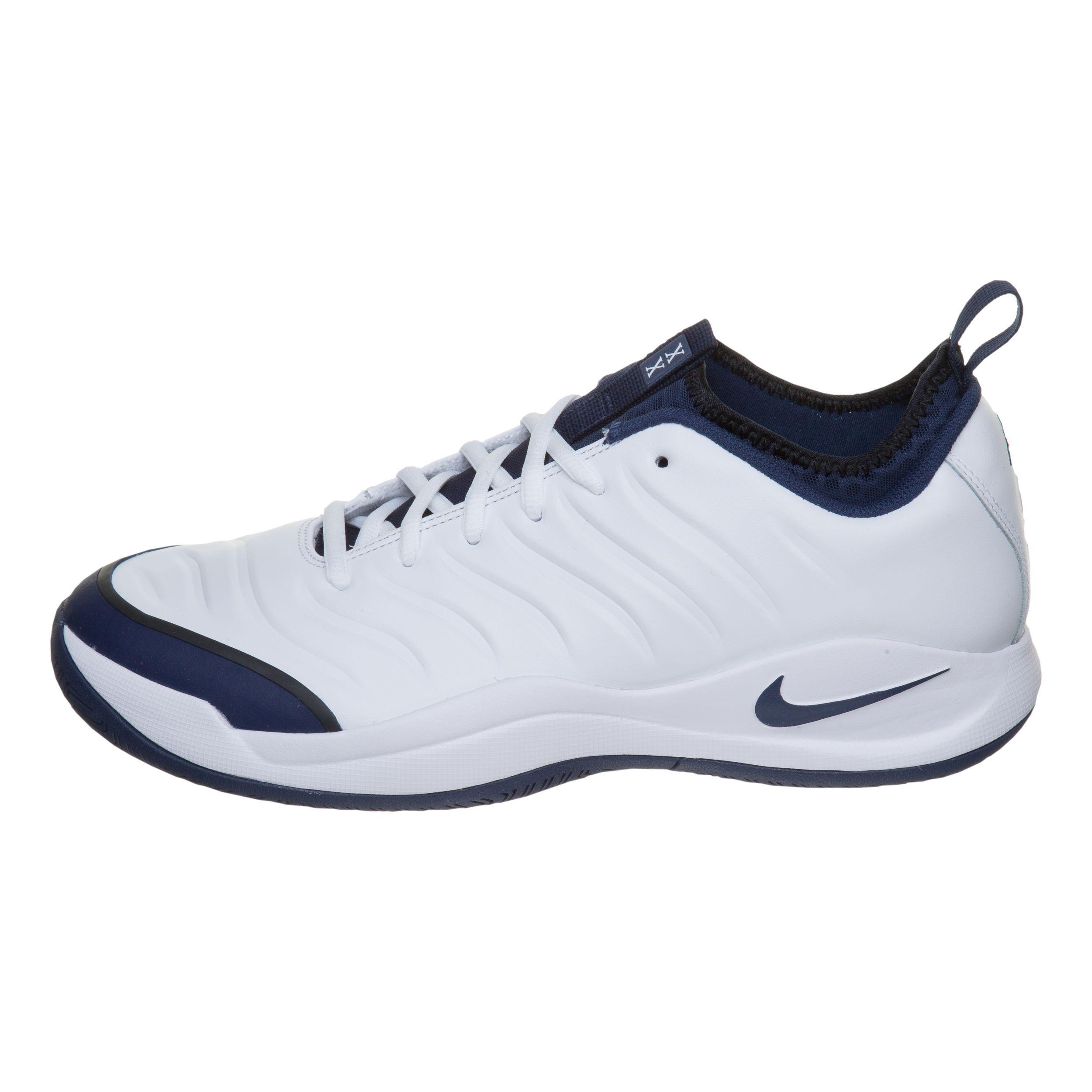 Nike Air Zoom Oscillate Allcourt sko Herrer Hvid, Mørkeblå