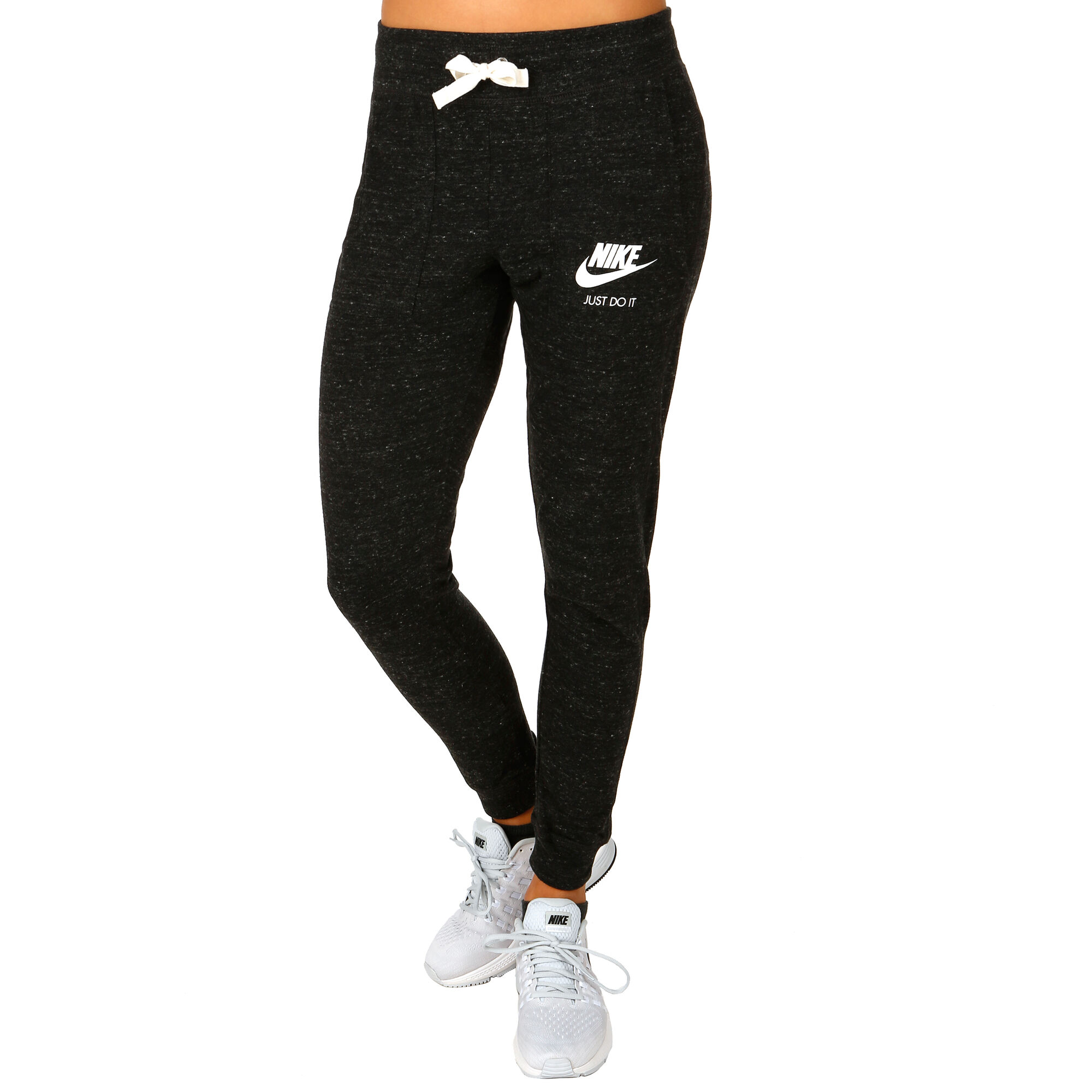 2bd9e5ee032 Nike Sportswear Gym Vintage Træningsbukser Damer - Sort, Hvid køb ...