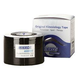 Kinesiology Tape 1 Rolle 5m x 5cm schwarz