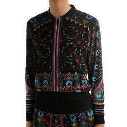 Majesty Velvet Bomber Jacket Women