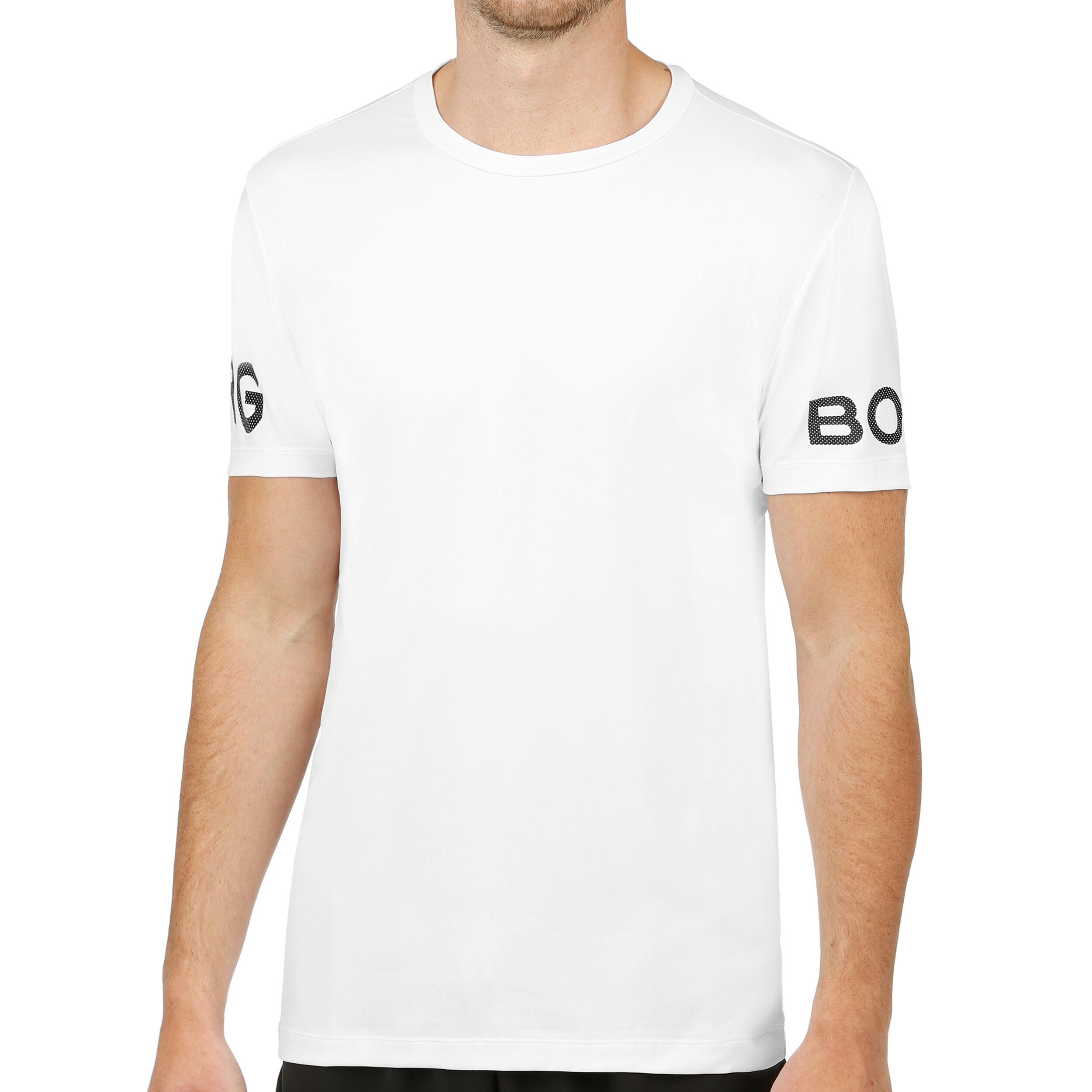 Borg T shirt Herrer Hvid, Sort