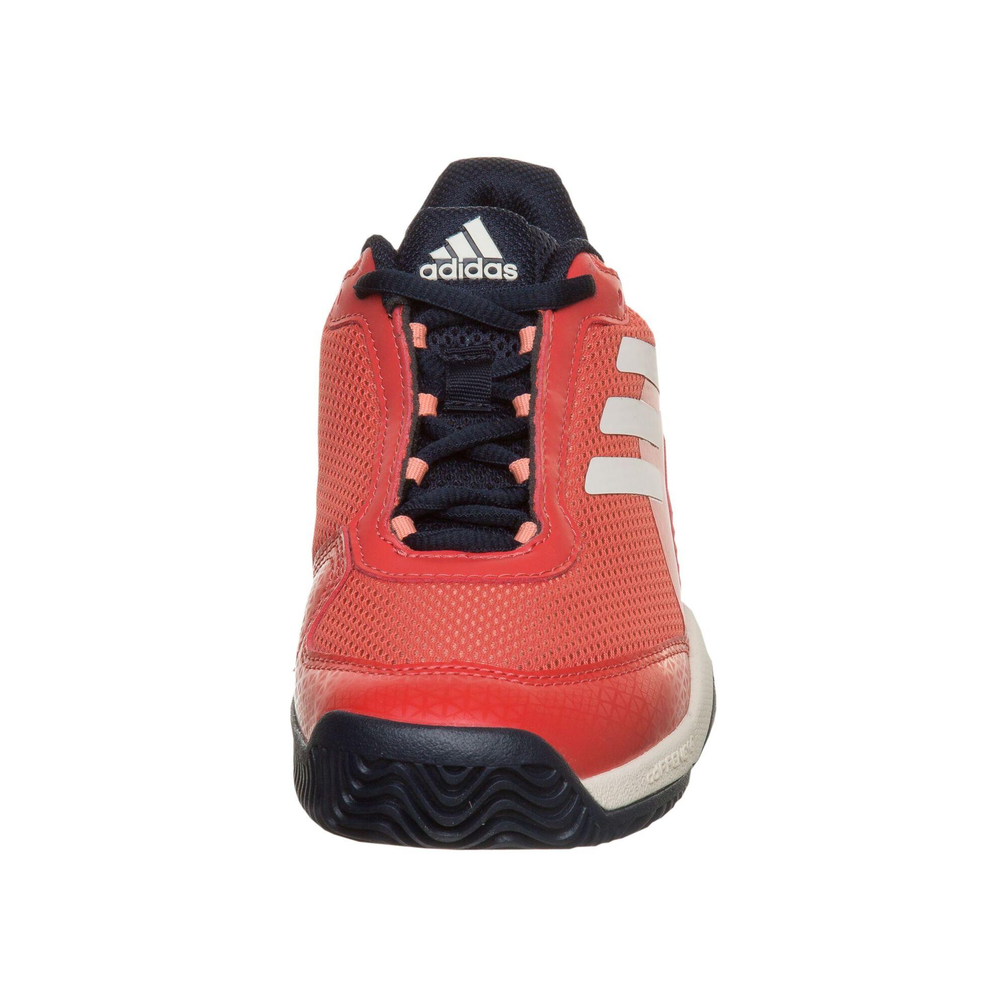 ecea0eaf483 adidas Barricade Club XJ Allcourt-sko Børn - Rød, Hvid køb online ...