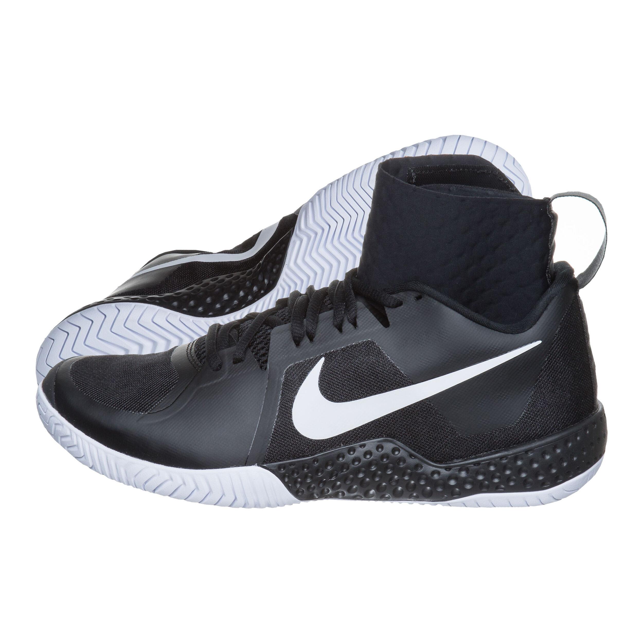 Nike Flare Allcourt sko Damer Sort, Hvid køb online